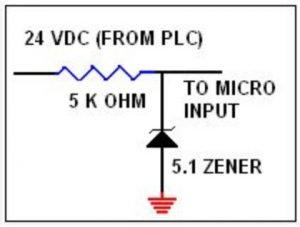 5.1 VDC Zener diode