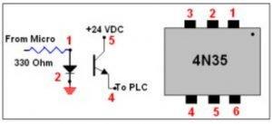 4N32 optocoupler IC