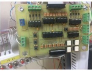 the controller main PCB