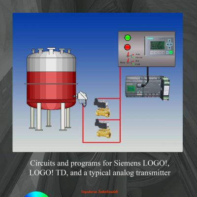 Programming SIEMENS LOGO! PLC as a dyeing machine Temperature Controller
