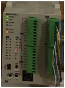Delta model DVP20X211T PLC