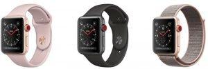 Apple series 3 smartwatch