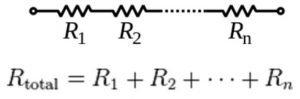 Series resistor circuits