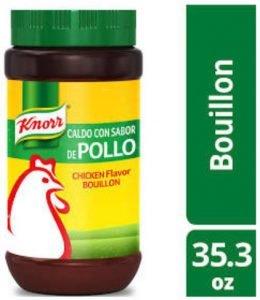 CALDO CON SABOR DE POLLO/CHICK Flavor BOUILLON