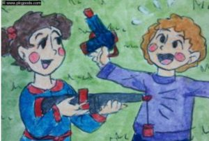 Do not buy toy weapons as gifts for children