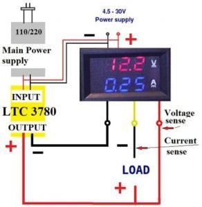 DIY bench power supply  LTC 3780 module