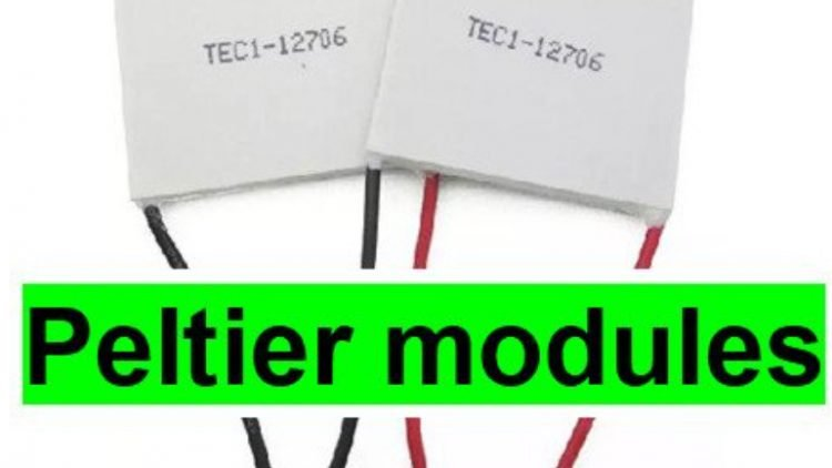 Building a DIY cooler using two TEC1-12706 Modules