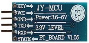 backside of the HC-06 board