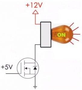 N-channel MOSFET Transistor