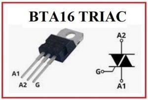 BTA16 TRIAC