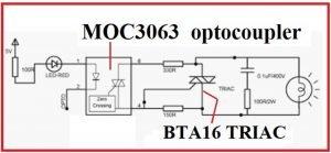 MOC3063 OPTOCOUPLER