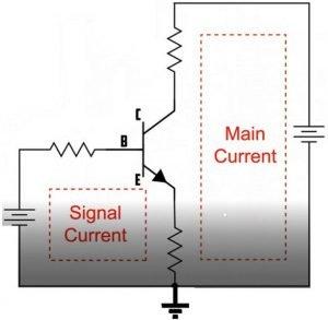 biased NPN transistor circuit