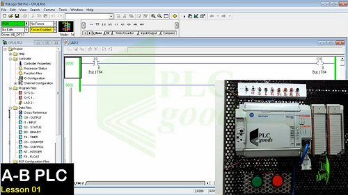 Introduction to Allen Bradley PLCs, RSLogix 500 PRO, RSLinx Classic, MicroLogix 1500, SLC 500