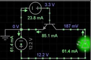 transistor very fast switch
