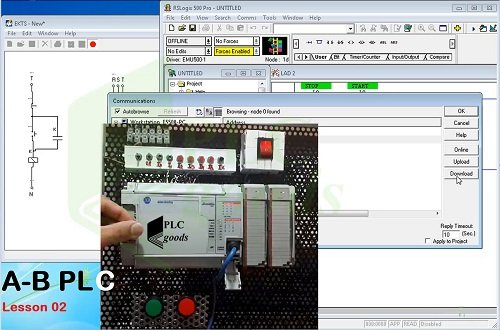 Introduction to programming Allen Bradley PLCs, RSLogix 500 PRO, RSLinx Classic, MicroLogix 1500, SLC 500