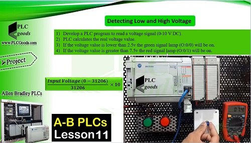 RSLogix 500 Analog signals move instructions Allen Bradley  Lesson 11