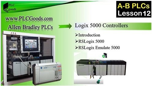 simulating &  linking  a PLC program with RSLogix 5000 & RSLinx  on Allen Bradley PLCs  Lesson 12