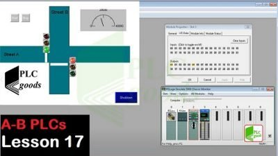 RSLogix 5000 and Factory talk tutorial on Allen Bradley PLC Lesson 17