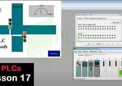 RSLogix 5000 and Factory talk tutorial on Allen Bradley PLC Lesson 17